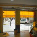 Puerta Vidrio para Heladeria, Heladeria La Valenciana Brenes , Cristaleria y Aluminios Guzmán