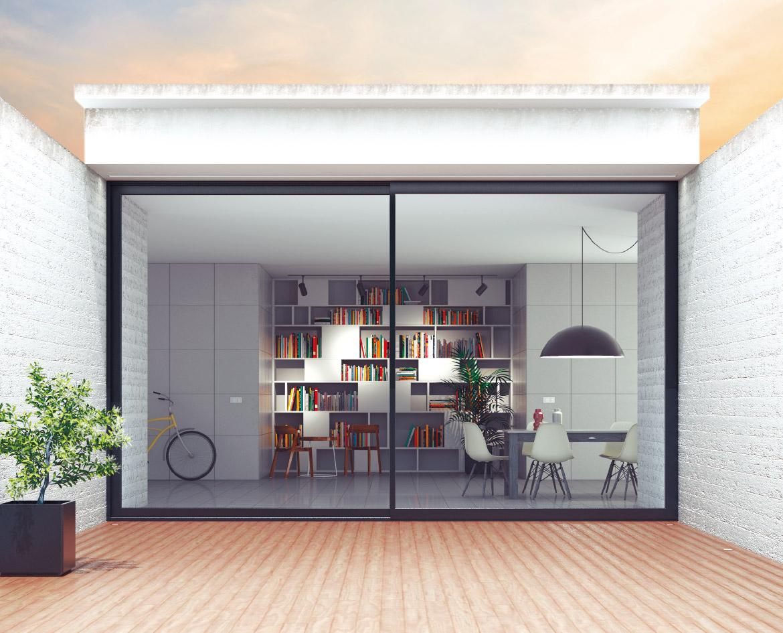 ventana corredera elevable strugal - Cristaleria y aluminios guzman